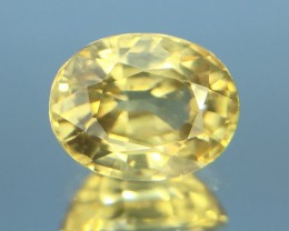 1.58 Ct Natural Zircon Awesome Color ~ Cambodia Kj60