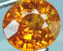2.90 CTS.LOVELY! SUPER FANTA ORANGE NATURAL SPESSARTITE GARNET