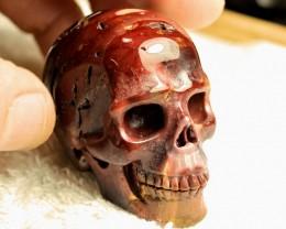 429 Carat Mppkaite Jasper Skull - Cool