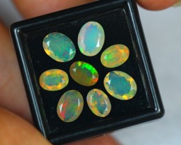 3.86Ct Natural Ethiopian Welo Faceted Opal Lot V347