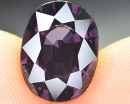 3.55 ct Natural Top Quality Purple Spinel Gemstone