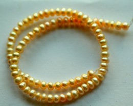 115.0Cts Semi-Round Pearl Strands