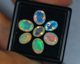 4.34ct Natural Ethiopian Welo Faceted Opal Lot GW337
