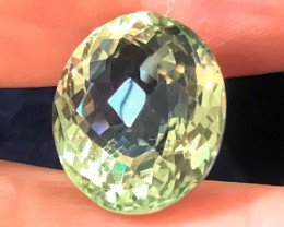 14.40ct Shimmering Superb Cut Green Amethyst  (Prasiolite) - NO RESERVE AU