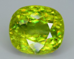 AAA Dispersion 4.76 ct Sphene SKU.12