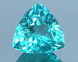 1.22 Ct Neon Blue Apatite ~ Insanity ~ Brazilian ~ Untreated