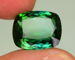 13.28 ct Indicolite Tourmaline Greenish Blue Kenya KM.30