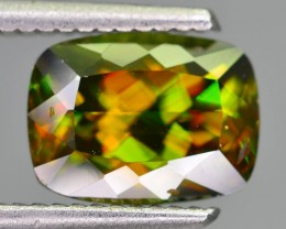 AAA Color & Fire 3.25 ct Chrome Sphene Gilgit Pakistan SKU.11