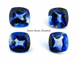 Unusual 17.5ct Unheated Kashmir Blue Sapphire, GIA Certified