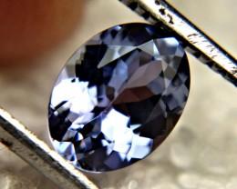 1.29 Carat Blue African VVS/IF Tanzanite - Gorgeous