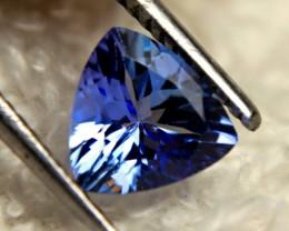 1.05 Carat Blue African IF/VVS Tanzanite - Gorgeous