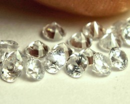 2.51 Carat White Zircon Accents - 2.8mm - 19pcs.
