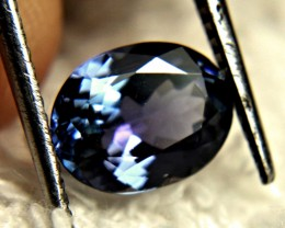 CERTIFIED - 1.98 Carat Vibrant Blue VVS1 Tanzanite - Superb