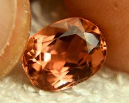 CERTIFIED - IF/VVS1 Orange / Pink Tourmaline - Superb