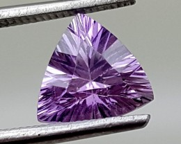 FLAWLESS AMETHYST 1.45 Cts  GEMSTONE JI 166