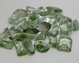 157 Ct Prasolite Prasiolite Parcel Gemstones heated IGCGRP17