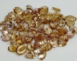 127 Ct Madeira Citrine Fancy cut Gemstone Parcel IGCMCP17