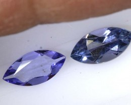 1.35 CTS BLUE TANZANITE FACETED  TBG-2851