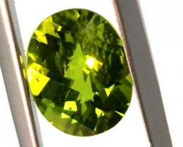 2.9CTS PERIDOT FACETED STONE TBG-2867