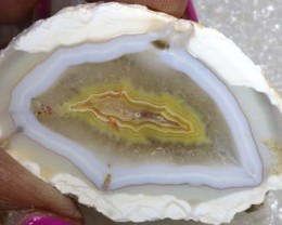108CT BEAUTIFUL AGATE GEODE MEXICO RG-2596
