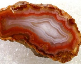 47CT BEAUTIFUL AGATE GEODE MEXICO RG-2599