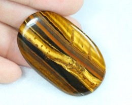 NR Lot 07 ~ 51.76Ct Natural Golden Tiger Eye