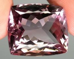 18.21ct Sparkling Pink Mauve Ametrine Amethyst - VVS