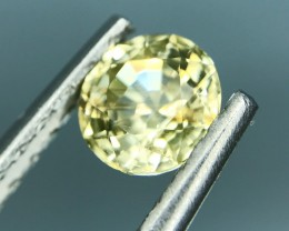 1.30 CT NATURAL YELLOW ZIRCON HIGH QUALITY GEMSTONE S4