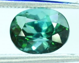 1.70 ct Oval Shape green Afghan Tourmaline Gemstone (AR)