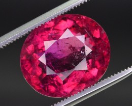 6.80 ct Natural Superb Color and Quality Rubelite Gemstone