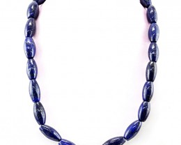 Genuine 644 cts Lapis Lazulli Beads Necklace
