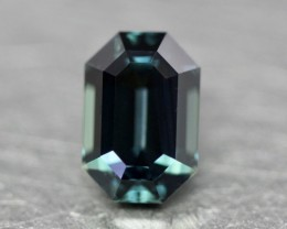 Gorgeous natural green sapphire.