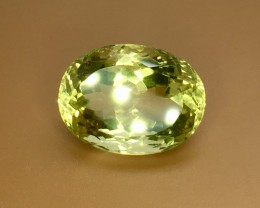 12.75 Crt Natural Lemon Quartz Faceted Gemstone (R 118)