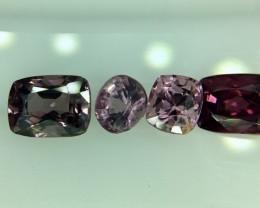 2.55 Crt Natural Spinel Parcel Faceted Gemstone (929)