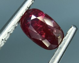 GIL CERTIFIED RED RUBY SPARKLING LUSTER HIGH QUALITY GEMSTONE