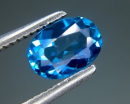 1.10 Ct Awesome Topaz Excellent Luster & Color ~ Kj64