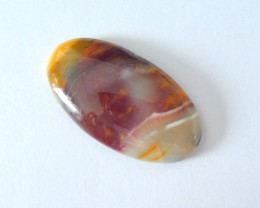 28.5CT Natural Mookite Jasper Oval Cabochon For Jewelry Design(18010501)