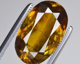 5 Ct Gorgeous Color Sphene Gemstone