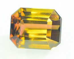 3.75 ct AAA Grade Bi Color Tourmaline Great Hue and Luster