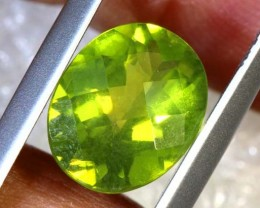 2.25 CTS PERIDOT FACETED STONE TBG-2868