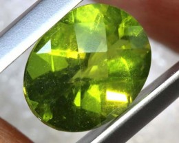 2.50 CTS PERIDOT FACETED STONE TBG-2870