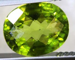 2.25 CTS PERIDOT FACETED STONE TBG-2871