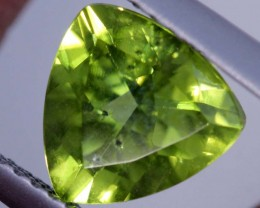 1.8 CTS PERIDOT FACETED STONE TBG-2881