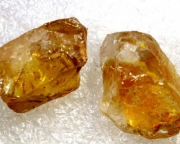 55 CTS A GRADE CITRINE ROUGH NATURAL BG-253