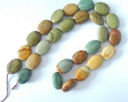 Sell Natural Owyhee Oval Loose Beads,17x13x6mm,15x11x6mm,41cm In The Length