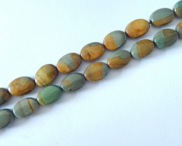 Hot Sale,Natural Owyhee Oval Loose Beads,13x10x4mm,13x10x5mm,39.7cm In The