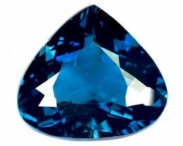 ~SIZZLING~ 10.93 Cts Natural London Blue Topaz Heart mix Brazil