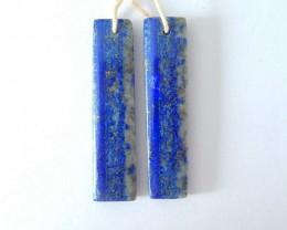 26.5 CT Natural Lapis Lazuli Earrings(18010616)