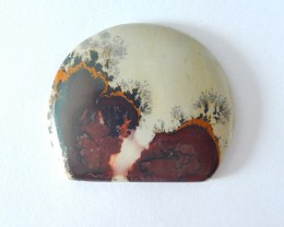 42ct Natural Chohua Jasper Freeform Cabochon,Beautiful As Natural Scenery-T