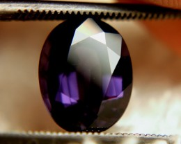 CERTIFIED DARK PURPLE SPINEL~4.03cts ~ LOVELY COLOUR